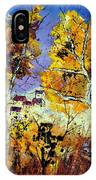 Two Trees In Fall IPhone Case