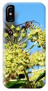 Two Wasps And A Bee IPhone Case