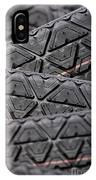 Tyres Stacked With Focus Depth IPhone Case