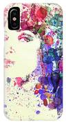 Uma Thurman IPhone Case