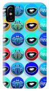 Uncle Sams Buttons IPhone Case