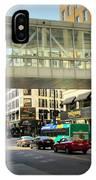 Under The Skywalk - Street Lamp IPhone Case