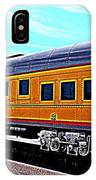 Union Pacific Observation Car In Hdr IPhone Case