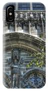 University Of Chicago Chapel IPhone Case