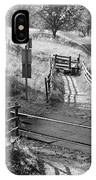 Unmanned Railway Crossing At Hope IPhone Case