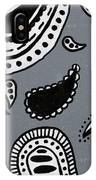 Untitled Paisley 2 Of 3 IPhone Case