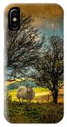 Up On The Sussex Downs In Autumn IPhone Case