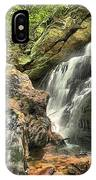 Upper Cascade Hidden Falls IPhone Case