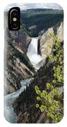 Upper Falls Of The Yellowstone River IPhone Case