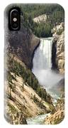 Upper Falls Yellowstone IPhone Case