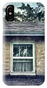 Upstairs Window In Stone House IPhone Case