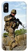 U.s. Air Force Airman Patrols IPhone Case