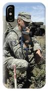 U.s. Air Force Sergeant Shoots Video IPhone Case