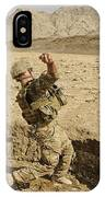 U.s. Air Force Soldier Throws A Frag IPhone Case