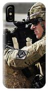 U.s. Army Sergeant Pulls Security While IPhone Case