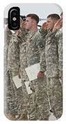 U.s. Army Soldiers And Recipients IPhone Case