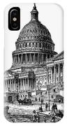 U.s. Capitol, 1884 IPhone Case