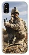 U.s. Marine Communicates IPhone Case