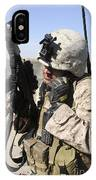 U.s. Marine Communicates With Fellow IPhone Case