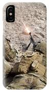 U.s. Marines Provide Suppressive Fire IPhone Case