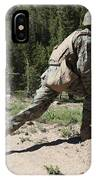 U.s. Marines Training At The Mountain IPhone Case