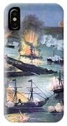 U.s. Navy Destroys Rebel Gunboats IPhone Case