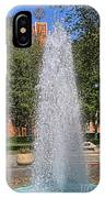 Usc's Fountain IPhone Case
