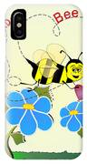 Valentine Bee Mine IPhone Case