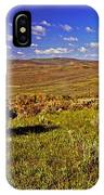 Valley At Fossil Butte Nm IPhone Case