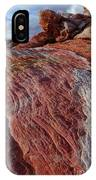 Valley Of Fire 1 IPhone Case