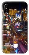 Vegas Strip At Night IPhone Case