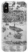 Venice: Map, C1566 IPhone Case