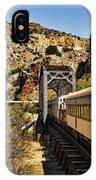 Verde Valley Railway IPhone Case