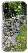 Vermont Stone Wall IPhone Case