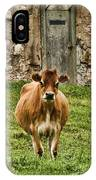 Vernon County Cow IPhone Case