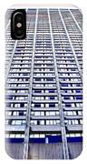 Vertical Urbanization IPhone Case