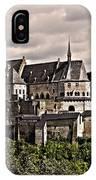 Vianden Castle - Luxembourg IPhone Case