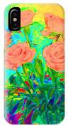 Vibrant Roses IPhone Case