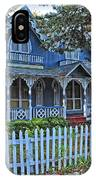 Victorian Home Marthas Vineyard IPhone Case