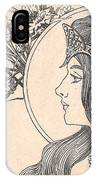 Victorian Lady - 2 IPhone Case