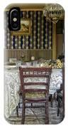 Victorian Sedman Home Dining Room - Nevada City Montana IPhone Case