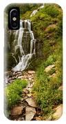 Vidae Falls Landscape IPhone Case