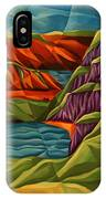 View From A Mountainside IPhone Case