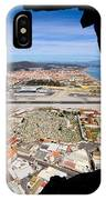 View From Inside Of The Gibraltar Rock IPhone Case