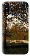 View Of A Large Sycamore Tree And White IPhone Case