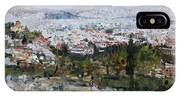 View Of Athens From Acropolis IPhone Case