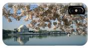View Of Cherry Blossoms IPhone Case