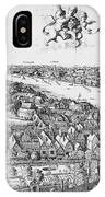 View Of London, 1647 IPhone Case