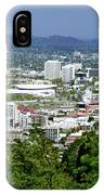 View Of Portland Oregon From Pittock Mansion  IPhone Case