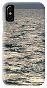 View Of Sunlit Waves On Open Water IPhone Case